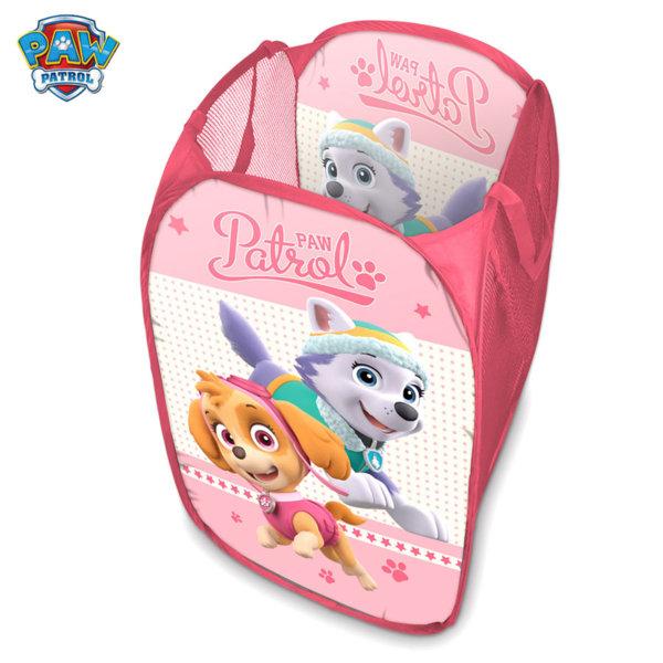 Paw Patrol Кош за играчки Pop Up Пес Патрул розов 24256