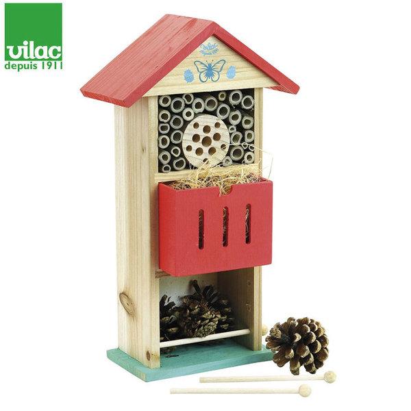 Vilac Дървена къщичка Хотел за насекоми 3808