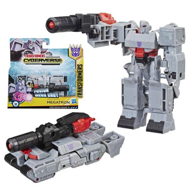 Transformers - Трансформърс Cyberverse 1-Step Megatron E3522