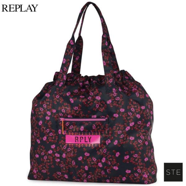 Replay Girls Flowers Чанта с две дръжки 05683
