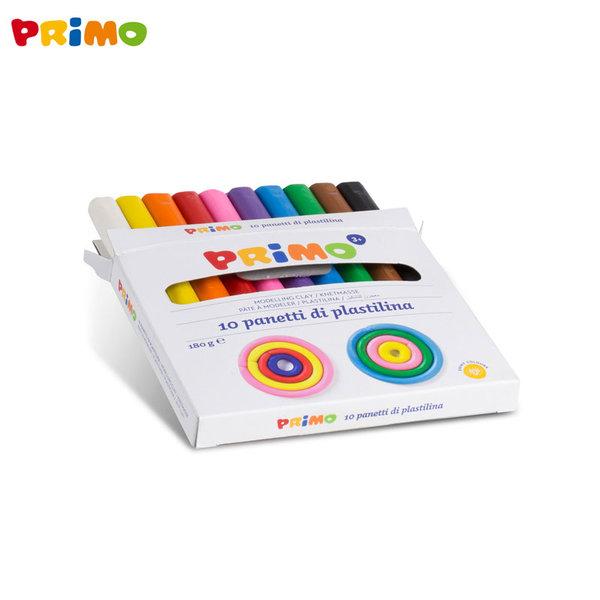 Primo Пластилин 10 цвята 266CP10