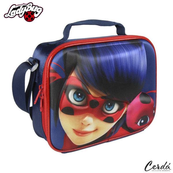 LadyBug Термо чанта за закуски 3D Калинката и черния котарак 2100002136