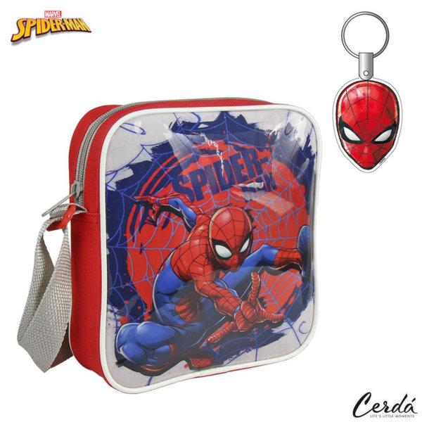 SpiderMan Детска чанта с ключодържател Спайдърмен 2100002184