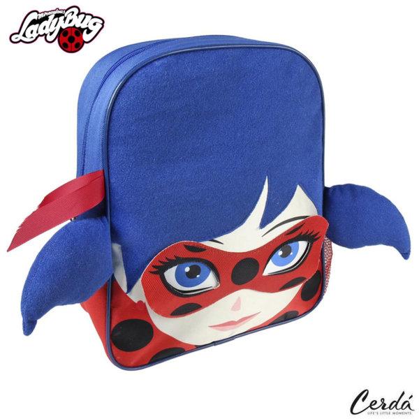 LadyBug Раница за детска градина 3D Калинката и черния котарак 2100002216