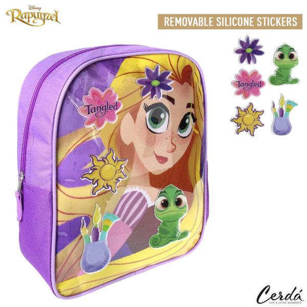 Disney Rapunzel Детска раница със силиконови стикери Рапунцел 2100002247