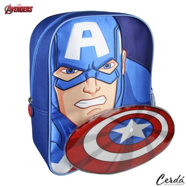 Marvel Avengers Раница за детска градина Капитан Америка 2100002250