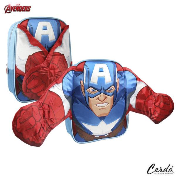 Marvel Avengers Раница за детска градина Капитан Америка 2100002469