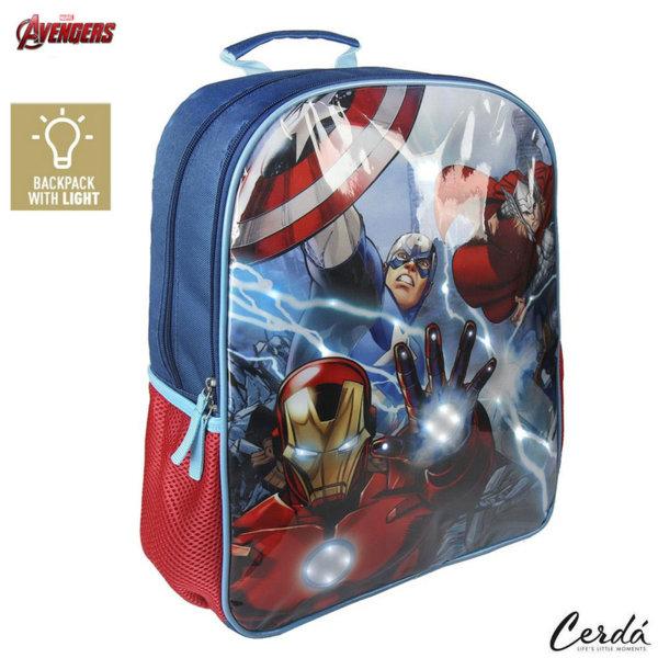 Marvel Avengers Ученическа раница със светлинки Отмъстителите 2100002027
