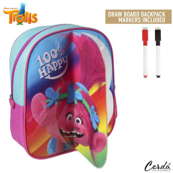 Trolls Детска раница за оцветяване с маркери Тролчета 2100002228
