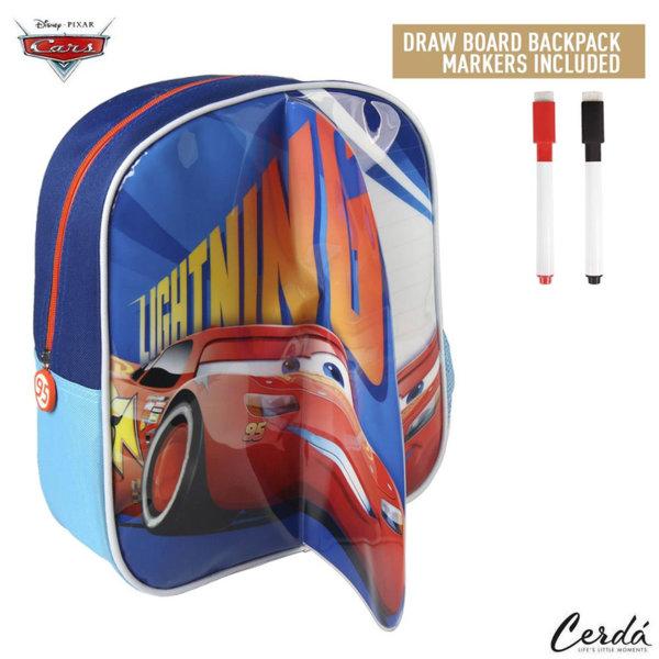 Disney Cars Детска раница за оцветяване с маркери Колите 2100002229