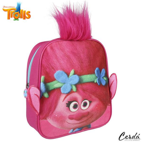 Trolls Раница за детска градина 3D Тролчета 2100002208