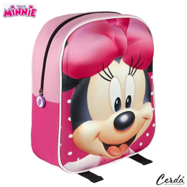 Disney Minnie Mouse Раница за детска градина 3D Мини Маус 2100001508