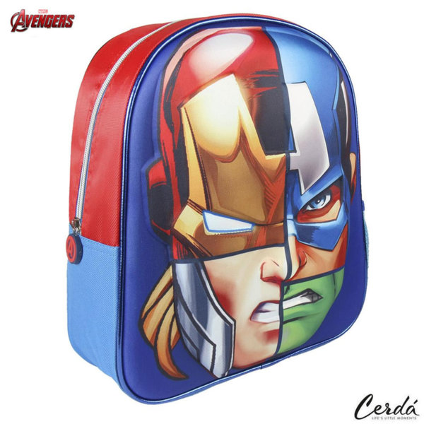Marvel Avengers Раница за детска градина 3D Отмъстителите 2100002092
