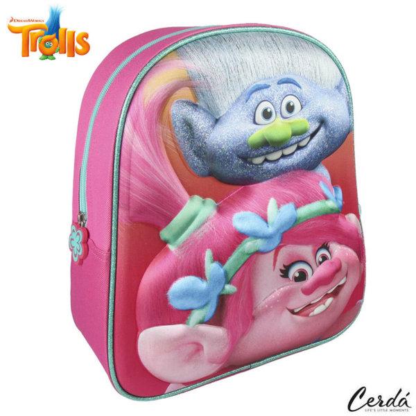 Trolls Раница за детска градина 3D Тролчета 2100002095