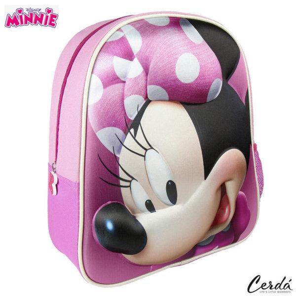 Disney Minnie Mouse Раница за детска градина 3D Мини Маус 2100002107