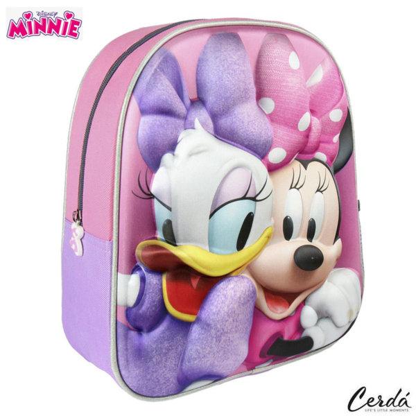 Disney Minnie Mouse Раница за детска градина 3D Мини Маус и Дейзи 2100002103