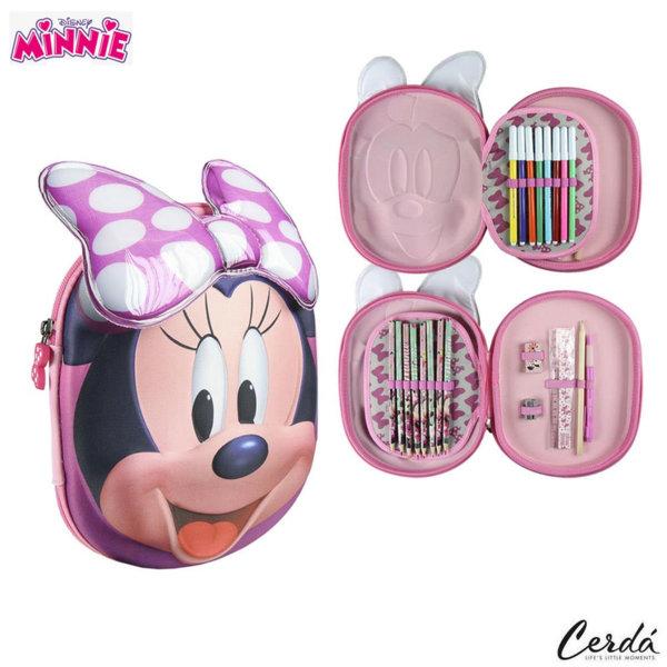 Disney Minnie Mouse Ученически несесер 3D, зареден Мини Маус 2700000216