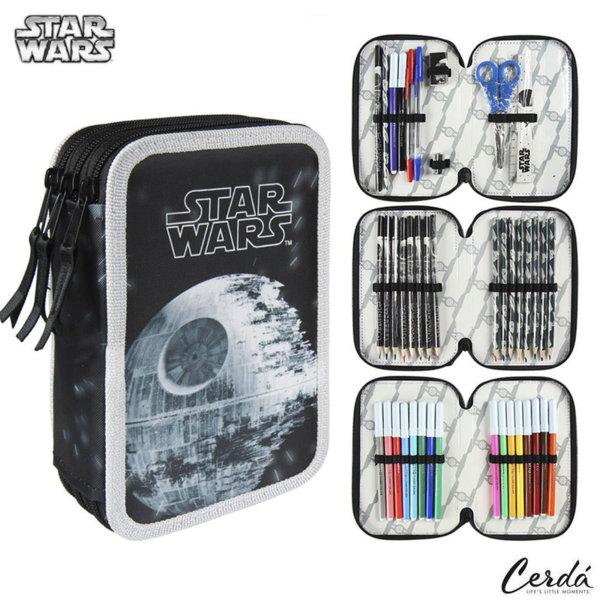 Star Wars Ученически несесер с 3 ципа, зареден Междузвездни войни 2700000223
