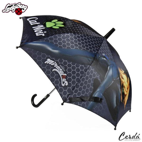 LadyBug Детски чадър Калинката и черния котарак 2400000364-1