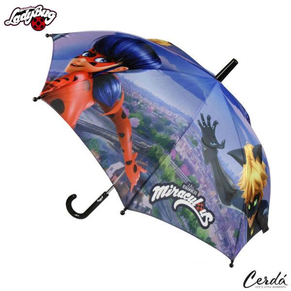 LadyBug Детски чадър Калинката и черния котарак 2400000364-2