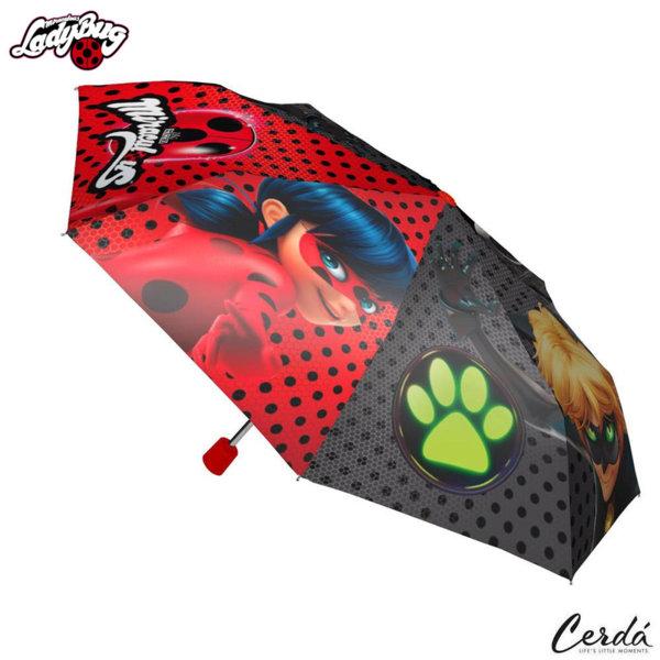 LadyBug Детски сгъваем чадър Калинката и черния котарак 2400000371