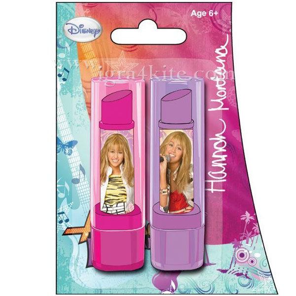 Disney Hannah Montana - Гума - червило 2 бр. Ханна Монтана 02106B