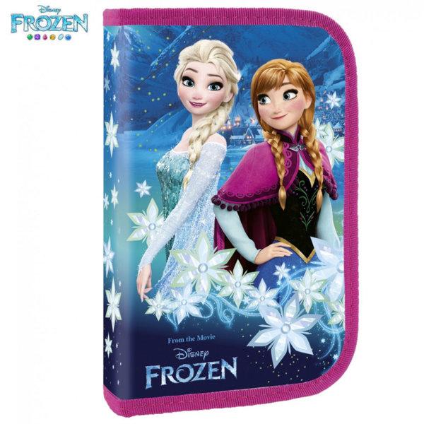 Disney Frozen Ученически несесер с един цип, зареден Замръзналото кралство 66537