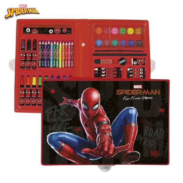 Derform SpiderMan Комплект за рисуване Спайдърмен 67862