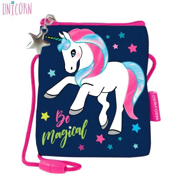 Derform Unicorn Портмоне за врат Еднорог 66445