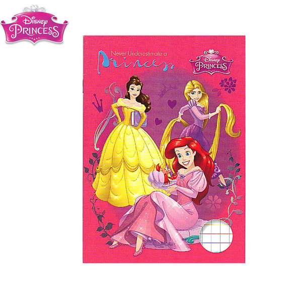 Disney Princess Тетрадка A5 комплект 5 броя Принцеси 643021