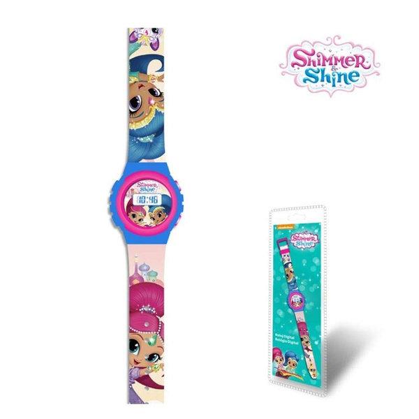 Shimmer and Shine Ръчен електронен часовник Искрица и Сияйница SH17021