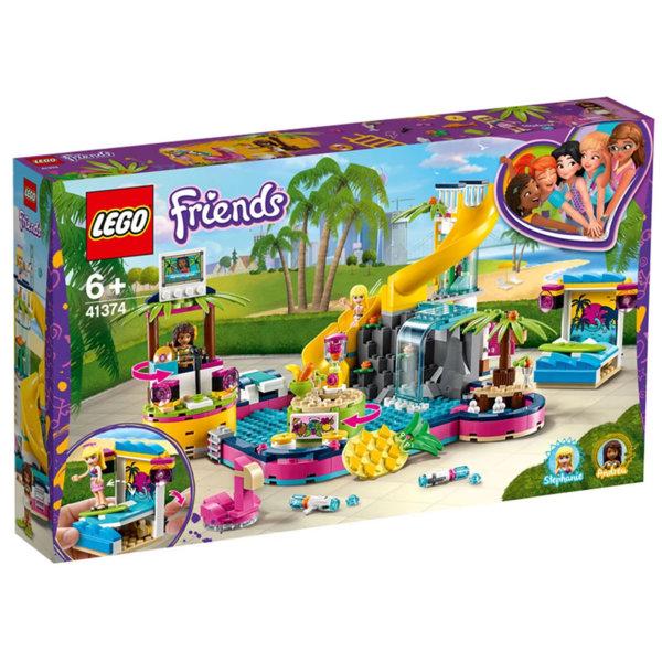 Lego 41374 Friends Парти при басейна на Andrea