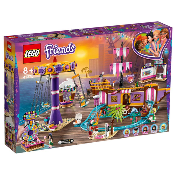 Lego 41375 Friends Увеселителен кей Хартлейк Сити