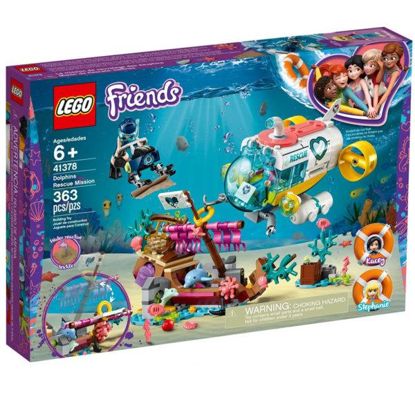 Lego 41378 Friends Мисия за спасяване на делфини