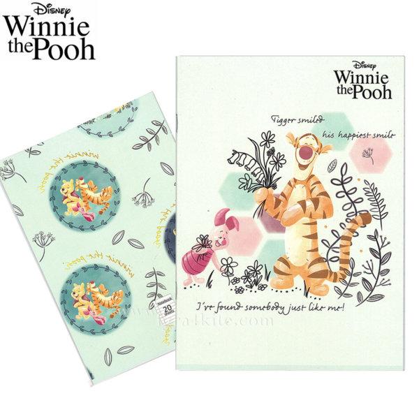 Disney Winnie the Pooh Тетрадка А5 Мечо Пух 20л комплект 5 бр 954002