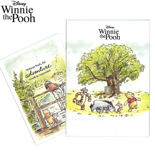 Disney Winnie the Pooh Тетрадка А5 Мечо Пух 20л комплект 5 бр 954004
