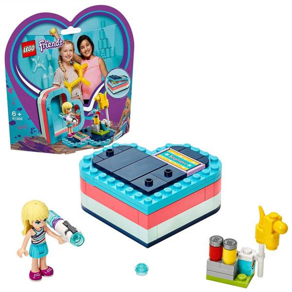 Lego 41386 Friends Лятната кутия с форма на сърце на Стефани