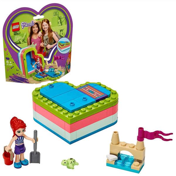 Lego 41388 Friends Лятната кутия с форма на сърце на Миа