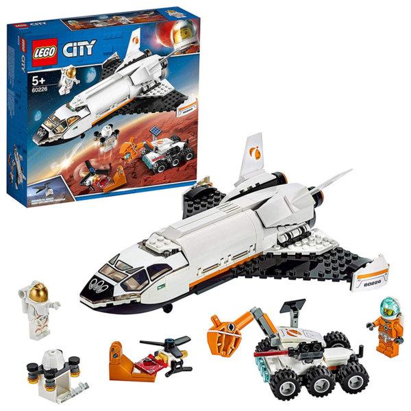 Lego 60226 City Изследователска совалка за Марс, Mars Expedition