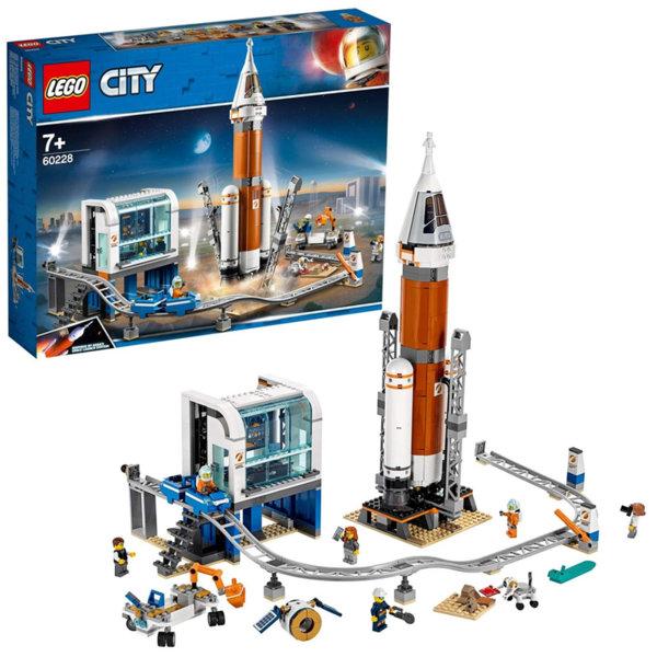 Lego 60228 City Ракета за открития космос и контрол на изстрелването, Mars Expedition