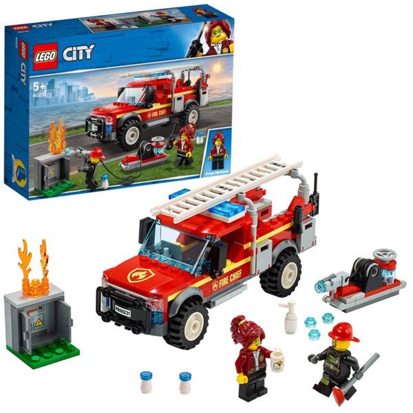 Lego 60231 City Камионът на командира на пожарната