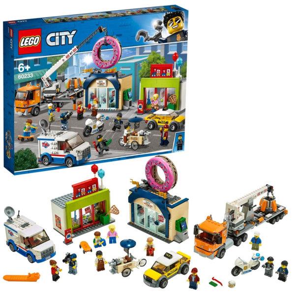 Lego 60233 City Откриване на магазин за понички