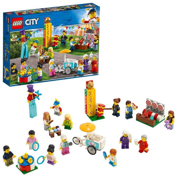 Lego 60234 City Пакет с хора Панаир с 14 мини фигурки