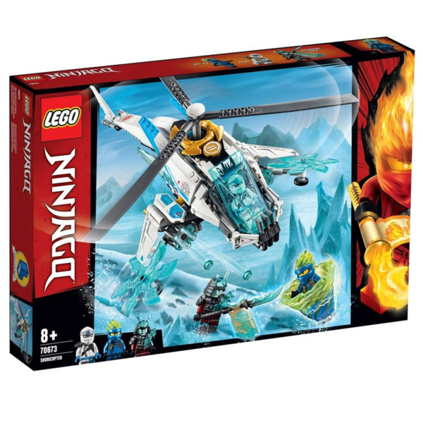 Lego 70673 Ninjago Шурикоптер