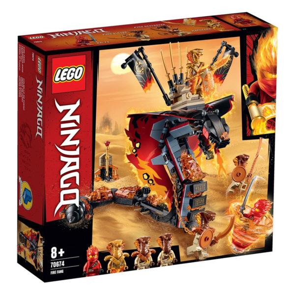 Lego 70674 Ninjago Огнен зъб
