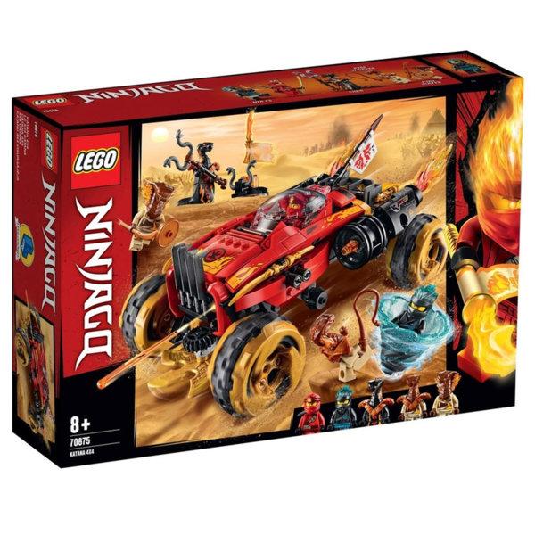 Lego 70675 Ninjago Катана 4х4