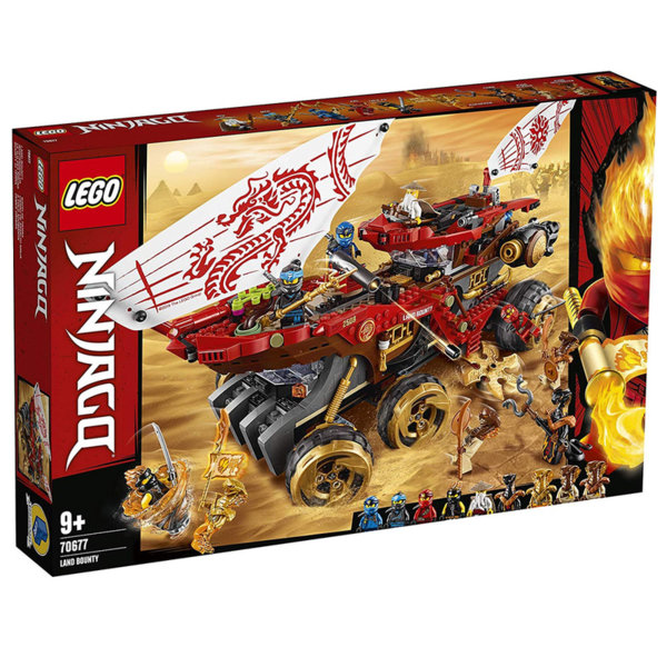 Lego 70677 Ninjago Наземен Баунти