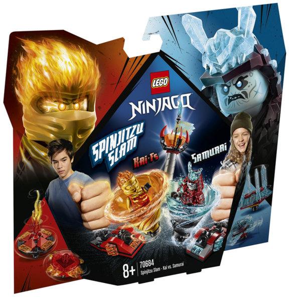Lego 70684 Ninjago Спинджицу Слам Кай срещу Самурай