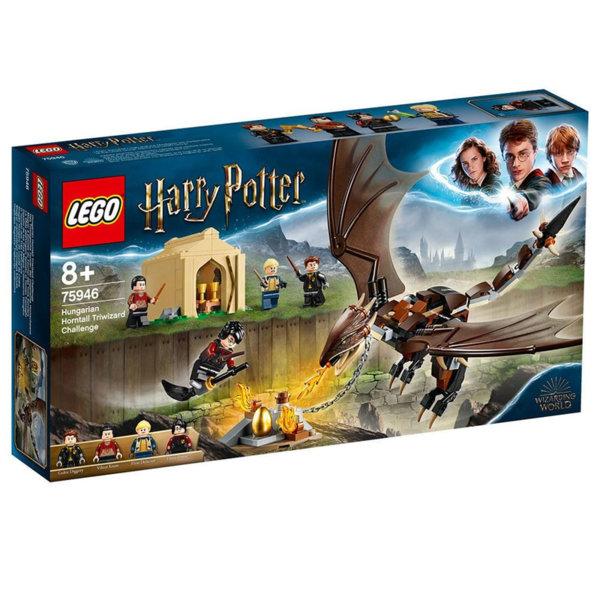 Lego 75946 Harry Potter™ Тримагическо предизвикателство с унгарски шипоносец