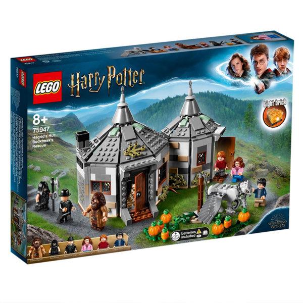 Lego 75947 Harry Potter™ Колибата на Хагрид: Спасяване на Бъкбийк